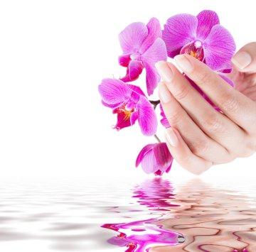 manicure naturalny